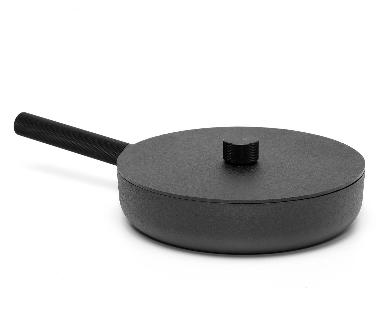 skeppshult pfanne noir 28 cm mit deckel. Black Bedroom Furniture Sets. Home Design Ideas